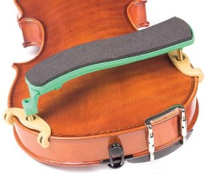 Kun Original Mini Green Shoulder Rest for 1/8 - 1/4 Violin